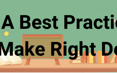 CMA Best Practices: How to Make Right Decision?