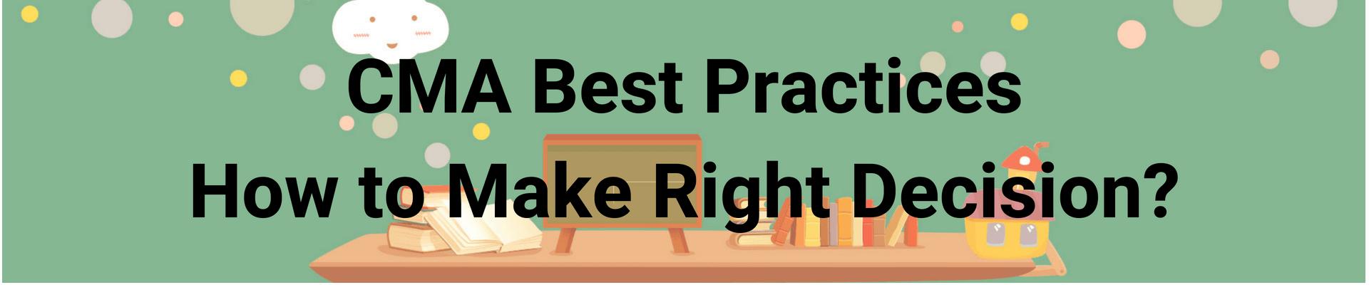 CMA Best Practices