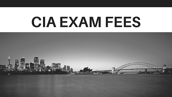 CIA Exam Fees
