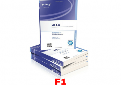 ACCA F1 Accountant in Business Study Material