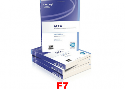ACCA F7 Financial Reporting Study Material