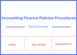 Accounting Finance Policies Procedures