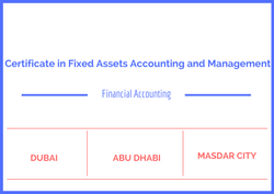 Certificate in Fixed Assets Accounting and Management