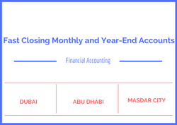 Fast Closing Monthly and Year-End Accounts